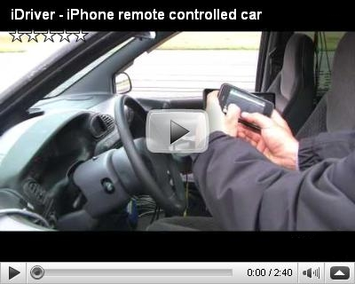 iPhone remote controlled car