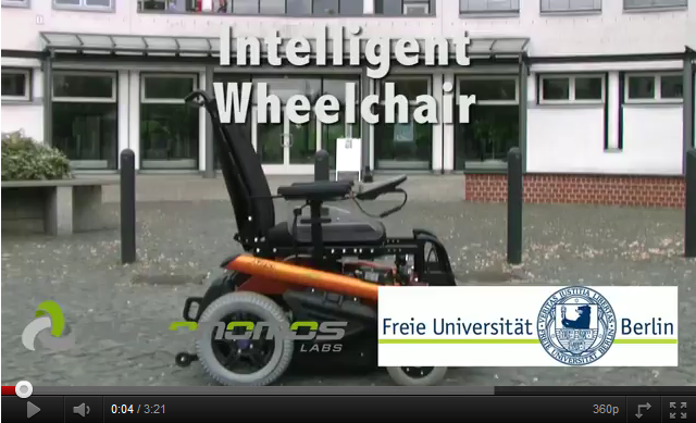 Intelligent Wheelchair video